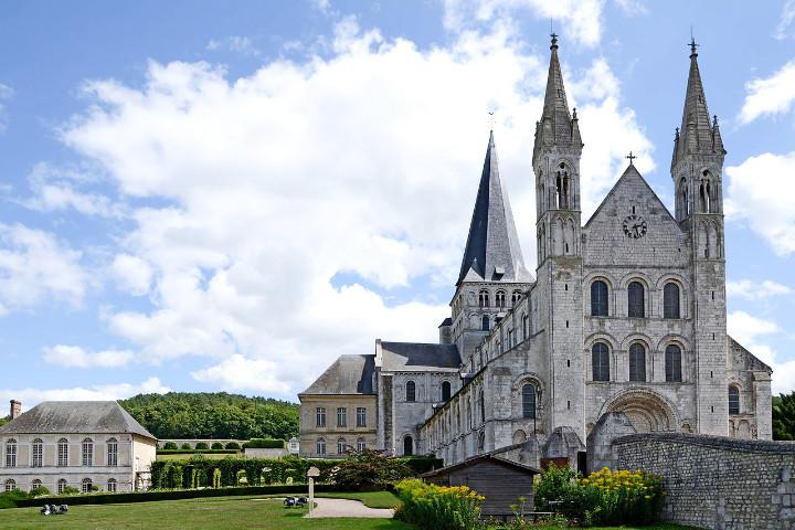 Saint-Martin de Boschervile : Abbaye Saint-Georges