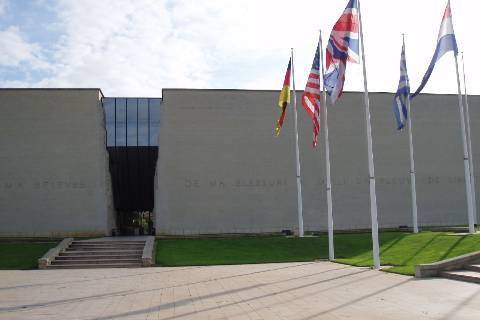 Caen : Musée mémorial