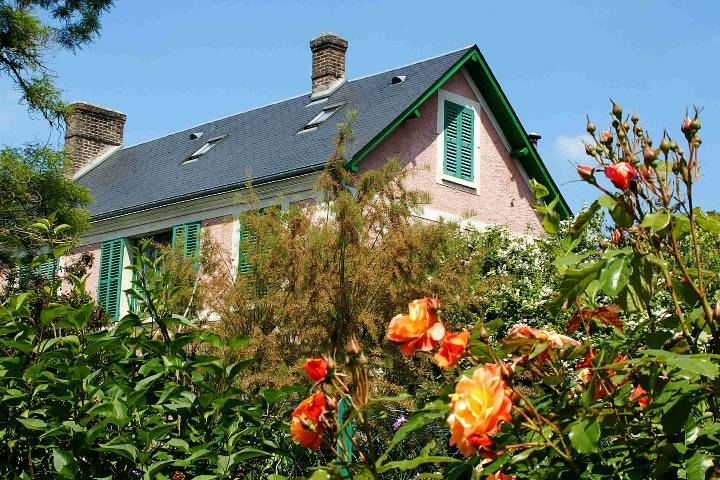 Giverny : Maison Claude Monet
