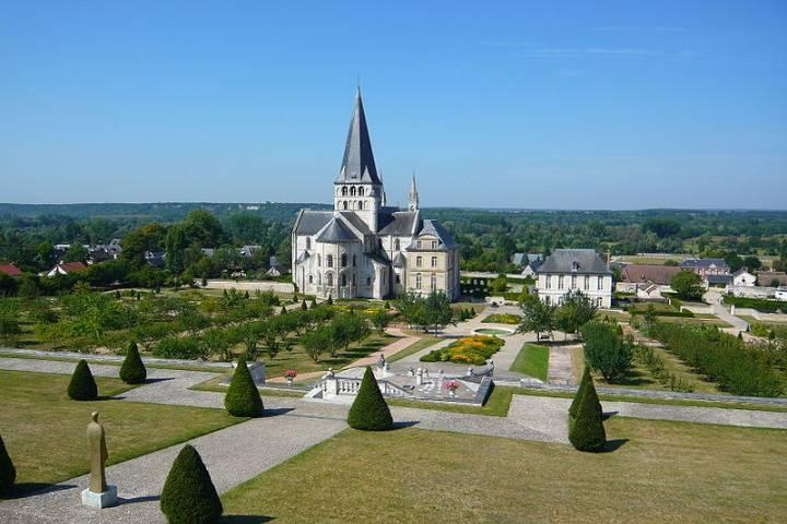 Saint-Martin de Boscherville : Jardin Abbaye