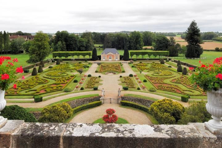 Parc château de Sassy