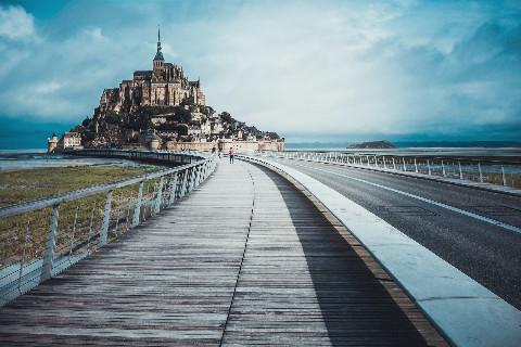 Mont-Saint-Michel : Abbaye