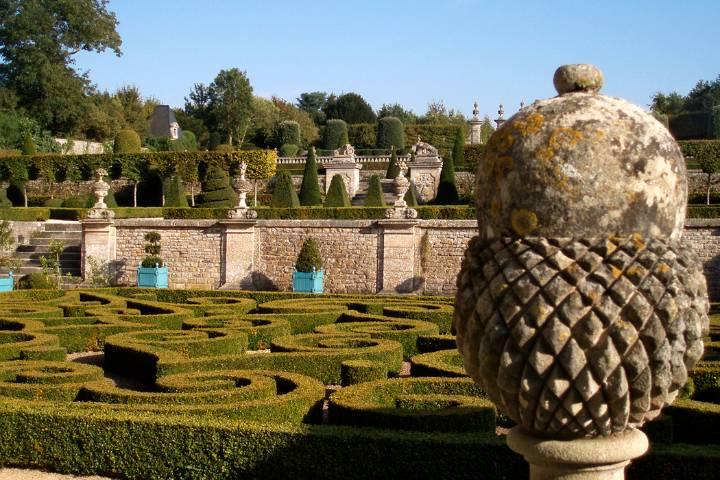 Jardin château de Brécy