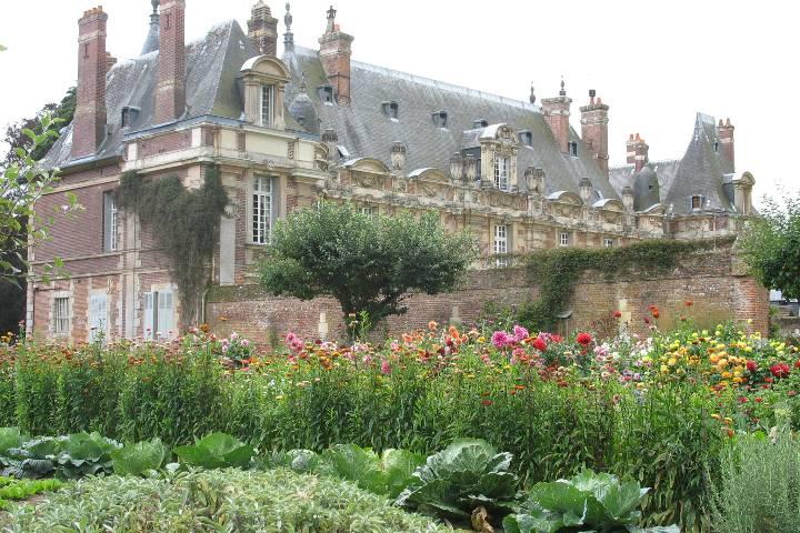 Tourville-sur-Arques : Parc du château