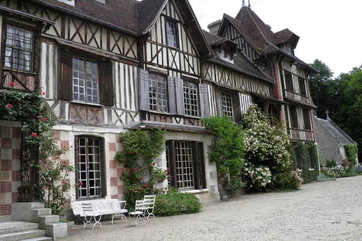 Saint-Pierre-de-Mannevile : Parc du manoir