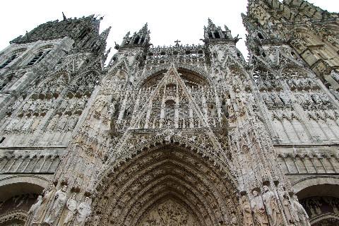 Visiter cathédrale Rouen