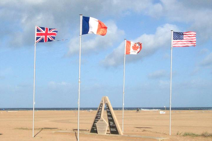 Sword Beach : Plage du débarquement