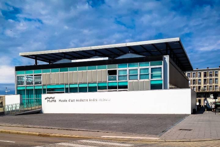 Le Havre : Musée Malraux entrée