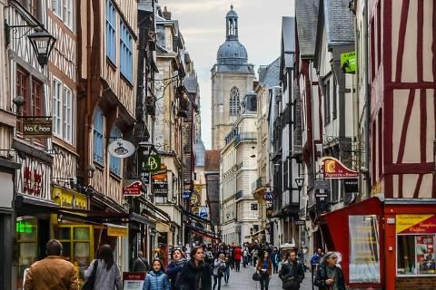 Ville historique Normandie