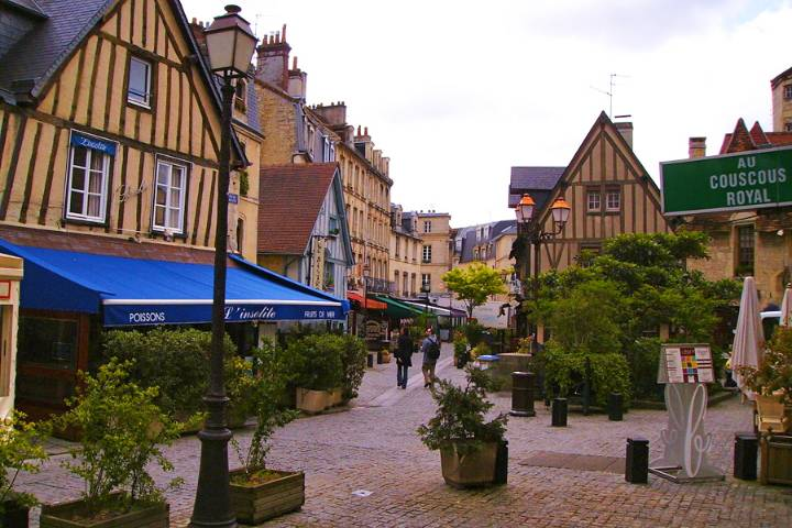 Caen : Quartier du Vaugueux