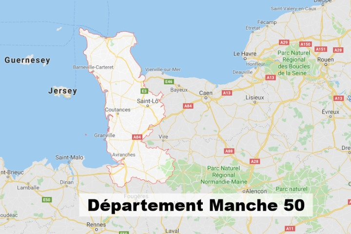 Carte Normandie Departement.Decouvrir Departement Manche 50 La Normandie Info